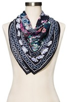 Merona Women's Navy Floral Fashion Scarf