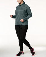 Nike Plus Size Therma Cowl-Neck Top