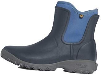 Bogs Women's Sauvie Slip On Boot Waterproof Garden Rain