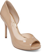 Jessica Simpson Bibi Peep-Toe Pumps