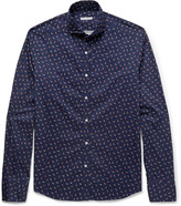 Michael Bastian - Slim-fit Printed Cotton Shirt