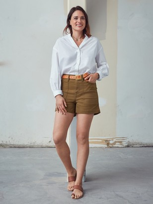 "Banana Republic Mid-Rise 4"" Utility Short"