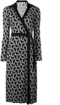 Diane von Furstenberg printed wrap dress - women - Silk - 4