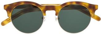 Han Kjobenhavn Smith round-frame sunglasses