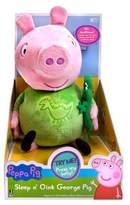 Peppa Pig Slumber n' Oink George Plush