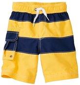 Boys Cargo Swim Trunks With UPF 50+
