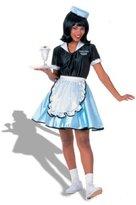 Rubie's Costume Co Rubie's Costume Fabulous 50's Car Hop Girl Costume