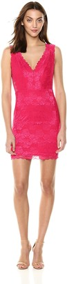 GUESS Women's Sleeveless Primrose Lace Galloon Dress