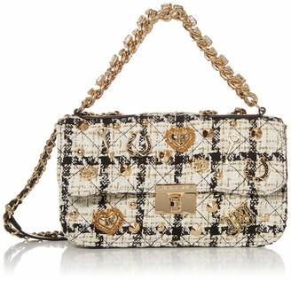 Betsey Johnson Women's Top Drawer Boucle Bag