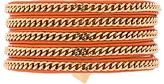 Vita Fede Capri Wrap Bracelet in Orange. - size 0 / XS (also in 1 / S,2 / M)