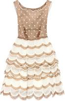Marc Jacobs Scalloped organza dress