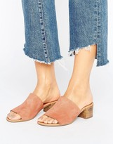 Asos TIMES Leather Mules