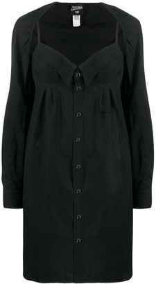 Jean Paul Gaultier Pre Owned 1990's Layered Shirt Dress