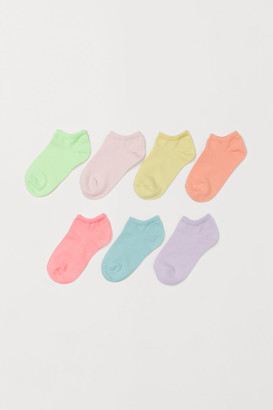 H&M 7-Pack Trainer Socks