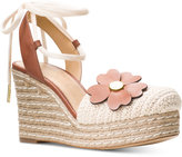 MICHAEL Michael Kors Kit Closed Toe Wedge Sandals