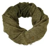Nicole Miller Women's Infinity Scarf With Spray Paint Print