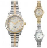 Timex Women's Core Style | Mother of Pearl Dial w Expansion Band | Dress Watch