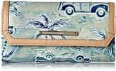 Brahmin Soft Checkbook Wallet, Sky Wallet