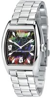 Christian Audigier Unisex INT-308 Intensity Sky Garden Stainless Steel Watch