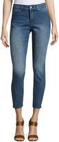 NYDJ Adaleine Skinny Cropped Jeans, blue