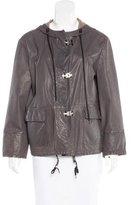 Marni Leather Anchor Jacket