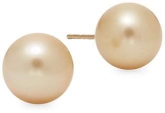 Tara Pearls 14K Gold 9-10MM South Sea Pearl Stud Earrings