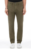 Citizens of Humanity Men's Anders Cotton Chino Trousers-DARK GREEN