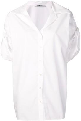 Chalayan Turned-Up Sleeve Shirt