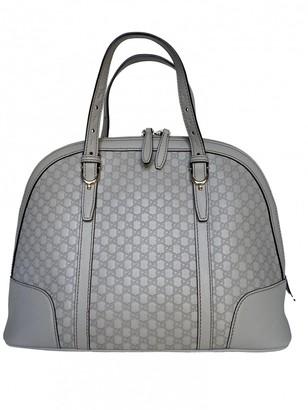 Gucci DAme Grey Leather Handbags