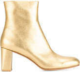 Maryam Nassir Zadeh metallic ankle boots