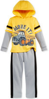 Nannette 2-Pc. Layered-Look Hoodie & Pants Set, Little Boys (2-7)
