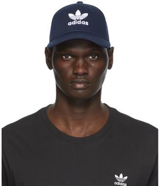 adidas Navy Trefoil Baseball Cap