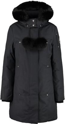 Moose Knuckles Stirling Parka With Fur Trimmed Hood