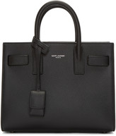Saint Laurent Black Nano Sac De Jour Tote