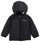 Columbia Infant Boy's Double Trouble Omni-Shield Reversible Water-Resistant Hooded Jacket
