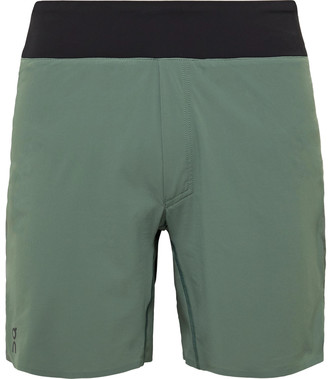 On Slim-Fit Stretch-Shell And Mesh Shorts
