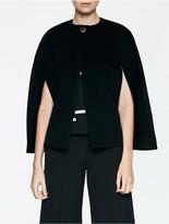Calvin Klein Platinum Heavy Wool Cashmere Cape