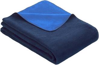 Ibena Sorrento Reversible Jacquard Queen Bed Blanket