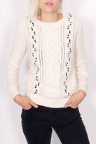 Maison Scotch Cable Stitched Sweater