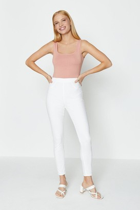 Coast Skinny Button Detail Jegging