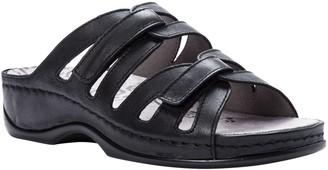 Propet Leather Slide Comfort Sandals - Kylie