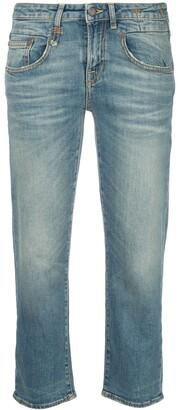 R 13 Boy slim fit traight jeans