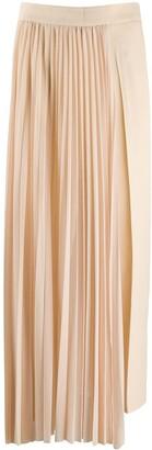 Erika Cavallini Asymmetric Pleated Skirt