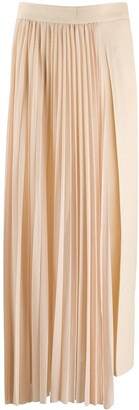 Erika Cavallini Asymmetric Pleated Skirt