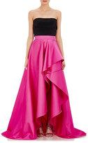 Monique Lhuillier Women's Satin Ball Skirt-PINK