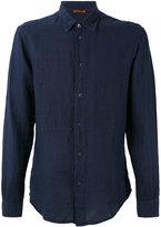 Barena long-sleeve shirt - men - Linen/Flax - 46
