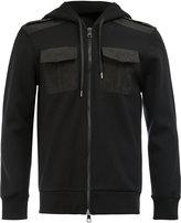 Neil Barrett chest pockets zipped hoodie