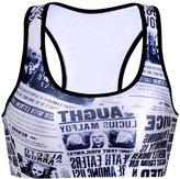 YACUN Women's No Rims Racerback Fitness Sports Bra Yoga Vest XS