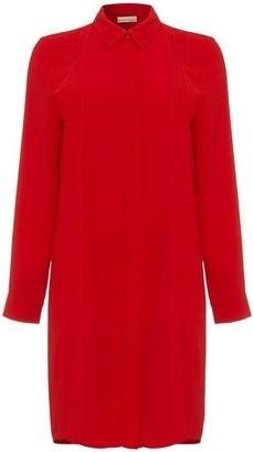 Phase Eight Dolunay Pleat Front Shirt Dress