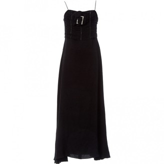 John Galliano Black Viscose Dresses